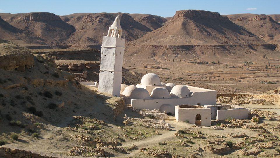 Chenini Mosque, Southern Tunisia