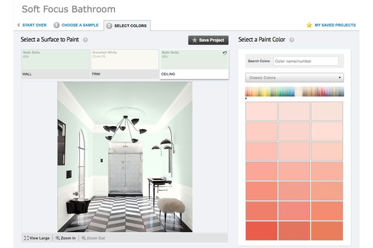 Paint color match apps tools to help you choose for Benjamin moore paint program