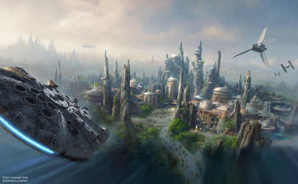 Star Wars Land coming to Disney Parks
