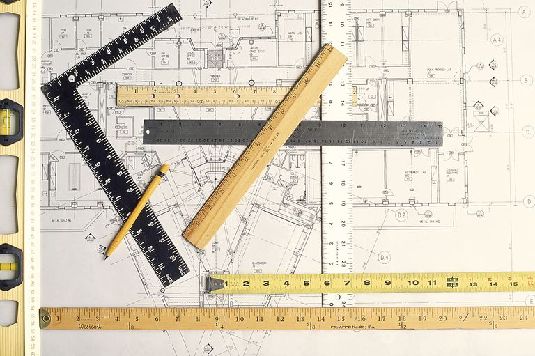 Converting feet to kilometers is something you can't see on a ruler. You need to learn how to calculate it.