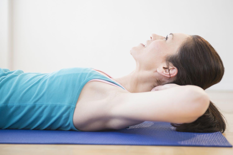 Neck Pull Pilates Exercise Instructions