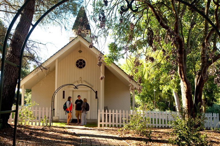 Voskuyl Prayer Chapel at Westmont College