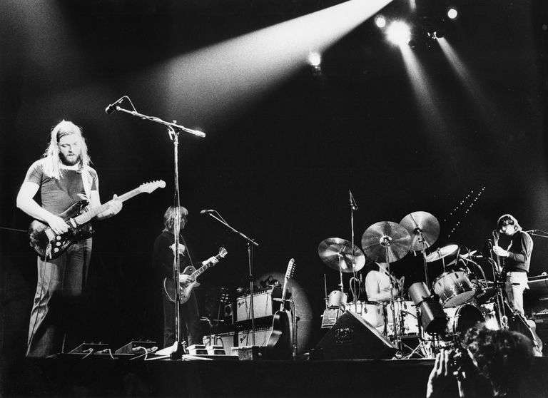 Pink Floyd Perform Live In Rotterdam