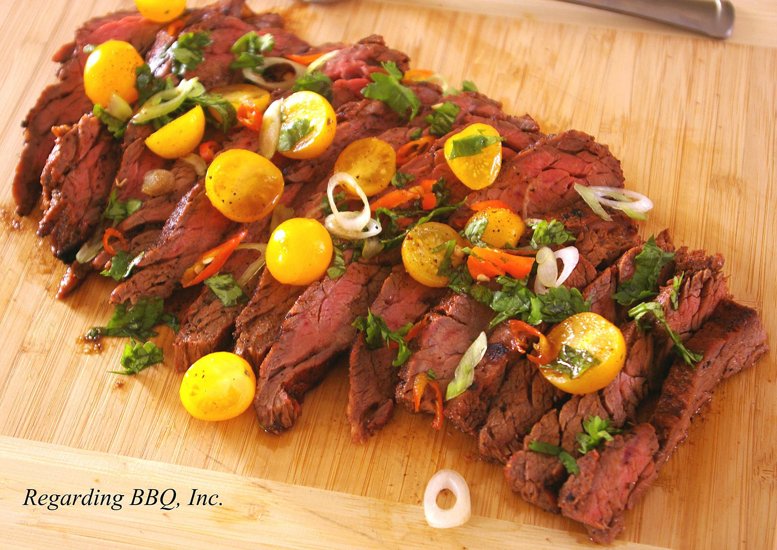 Cumin Marinated Skirt Steak Recipe