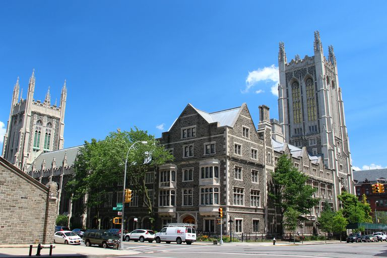 USA, New York City, Manhattan, Columbia's University, Morningside castle.