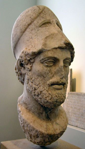 Pericles from the Altes Museum in Berlin.