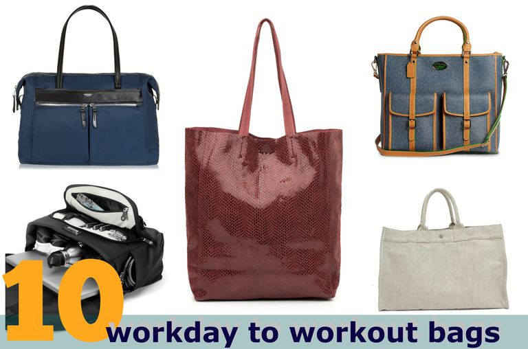 workday to workout bags