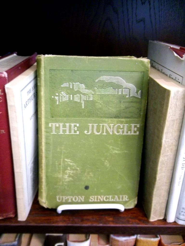 The Jungle, written by Upton Sinclair