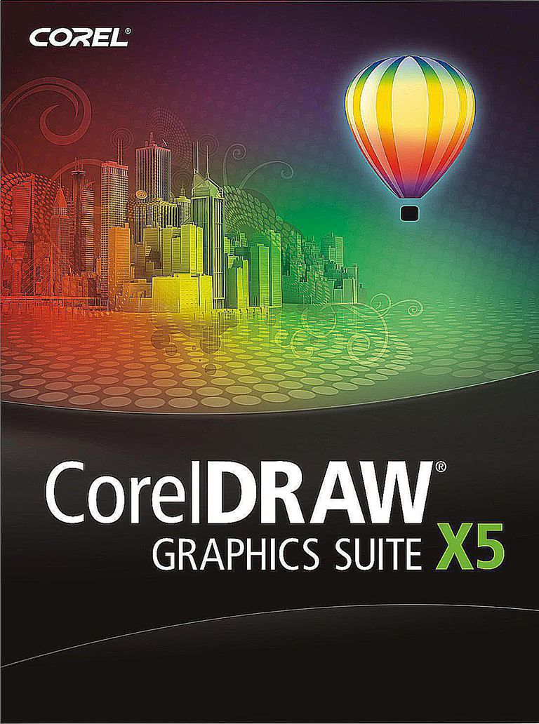 CorelDRAW Graphics Suite X5 Box shot © Corel Corp.