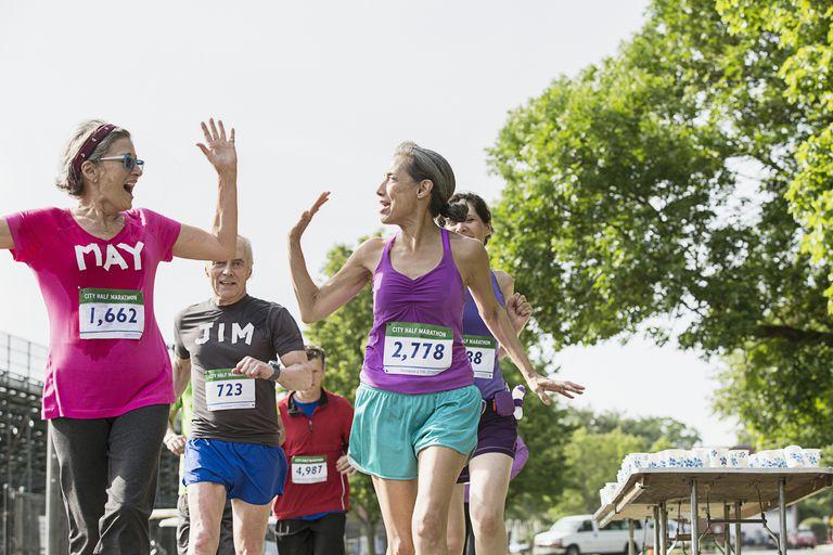 Half Marathon Walkers