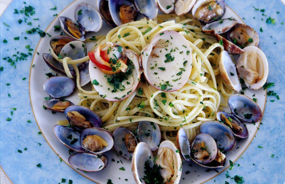 Spaghetti alla Vongole, Naples, Italy