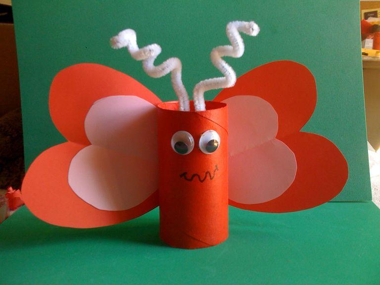 10 manualidades con rollos de papel higienico - Rollos de papel higienico decorados ...
