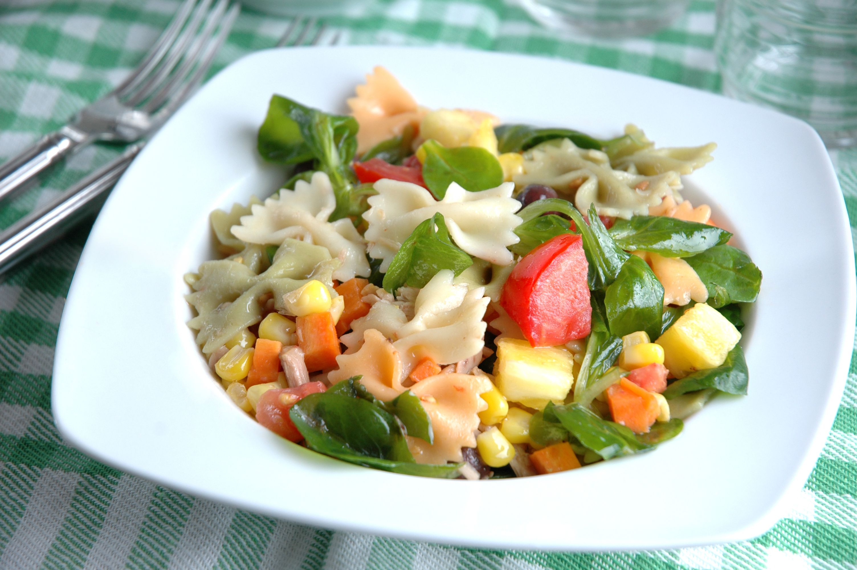 Spanish Summer Pasta Salad Recipe Ensalada De Pasta