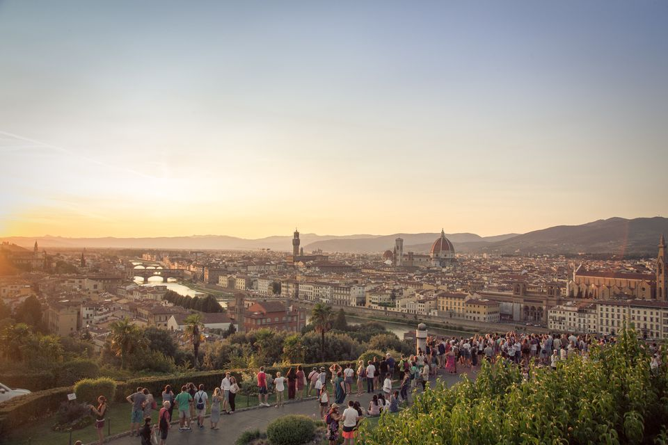 Piazzale Michelangelo overlook of Florence
