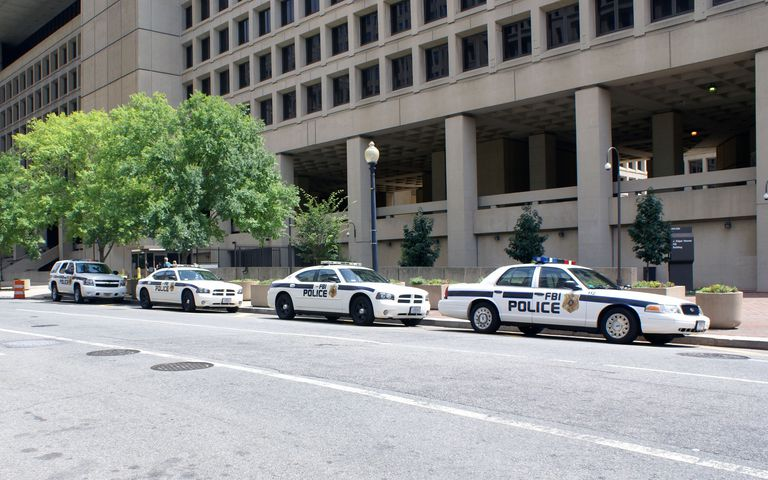 FBI Police Vehicles