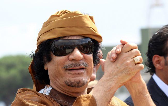 Muammar el Qaddafi champion terrorist