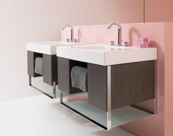 wall vanity. traverse modern wall-mounted vanities by kohler wall vanity