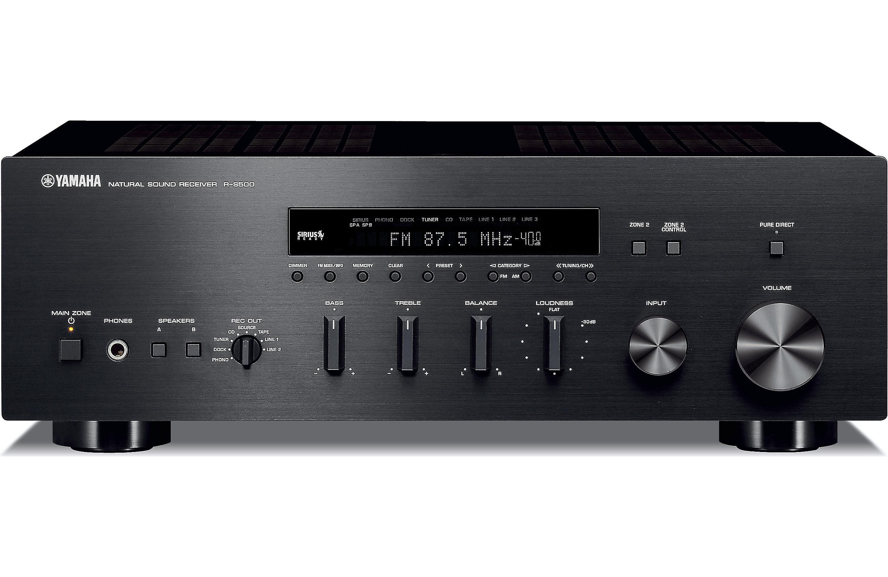 Review yamaha r s700 two channel stereo receiver for Yamaha stereo reciever