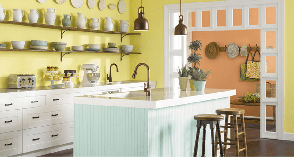 Sherwin-Williams Chartreuse | 7 Delicious Kitchen Colors