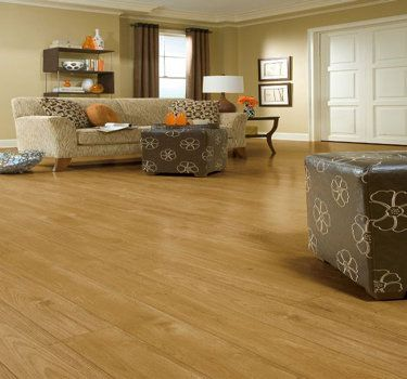 Laminate Flooring Living Room. Hickory Laminate Flooring In An Earth Tone Living Room a Multi Colored Decor