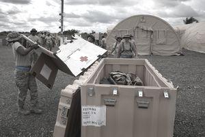 Air Force ebola treatment facility