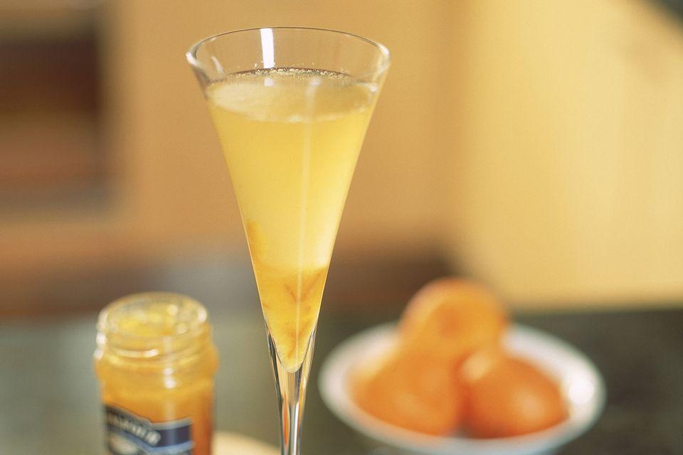 Baby Bellini Non-Alcoholic Cocktail