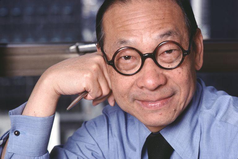Architect I.M. Pei in 1978