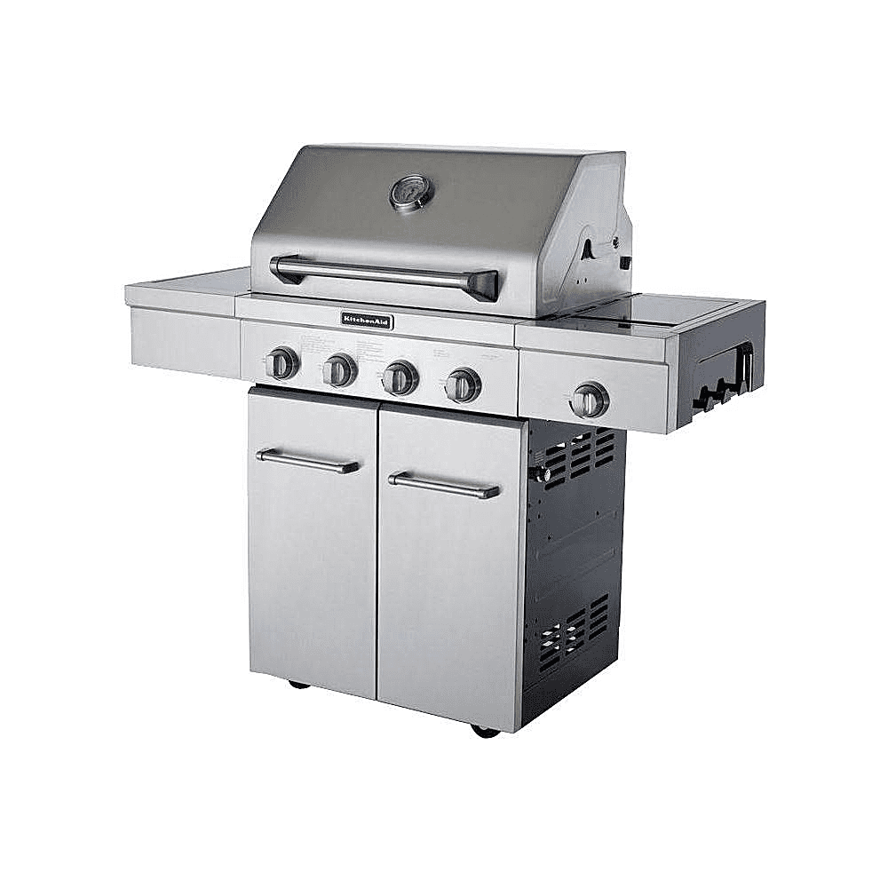 Master forge 5 burner island grill reviews - Kitchenaid 30 Inch 4 Burner Gas Grill The Pros And Cons