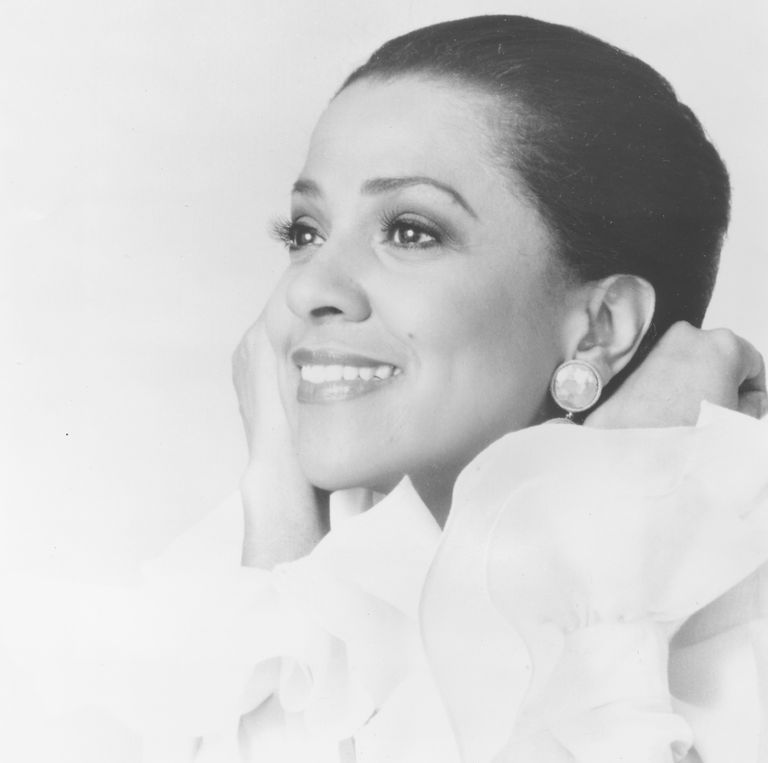 Operatic singer Kathleen Battle, 1998, is best known for her lyric coloratura soprano voice.