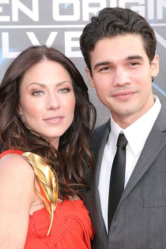 Lynn Collins and Richard Chavez