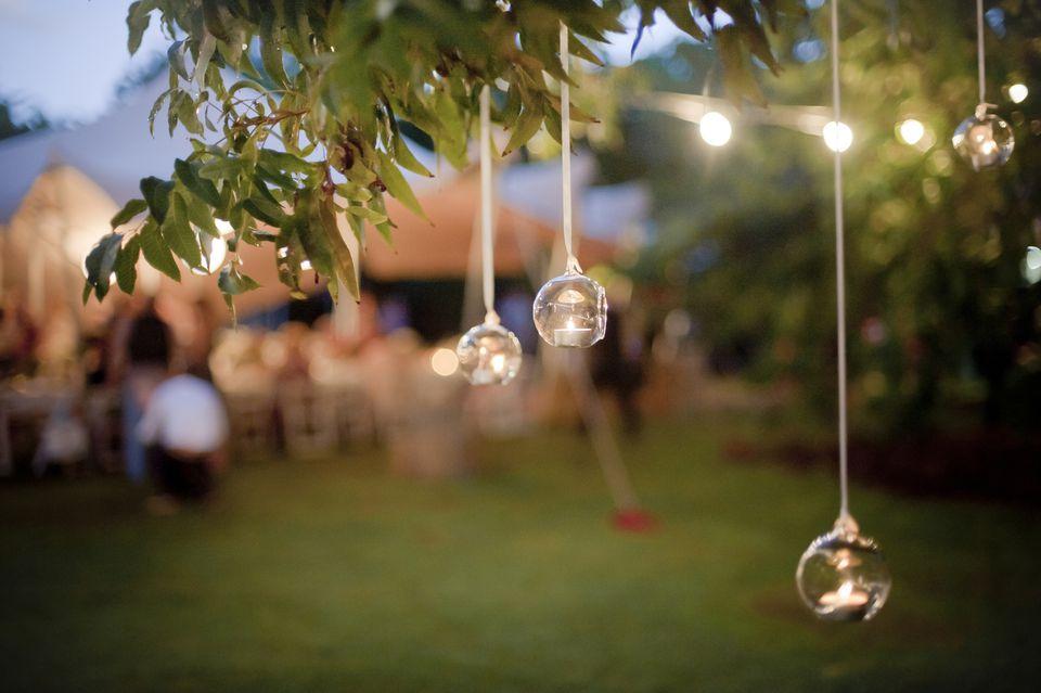 Wedding Lighting - Hanging Candles