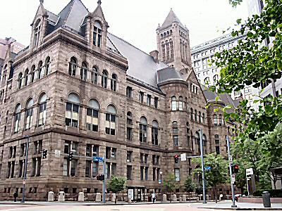 Allegheny County Courthouse, Pittsburgh PA