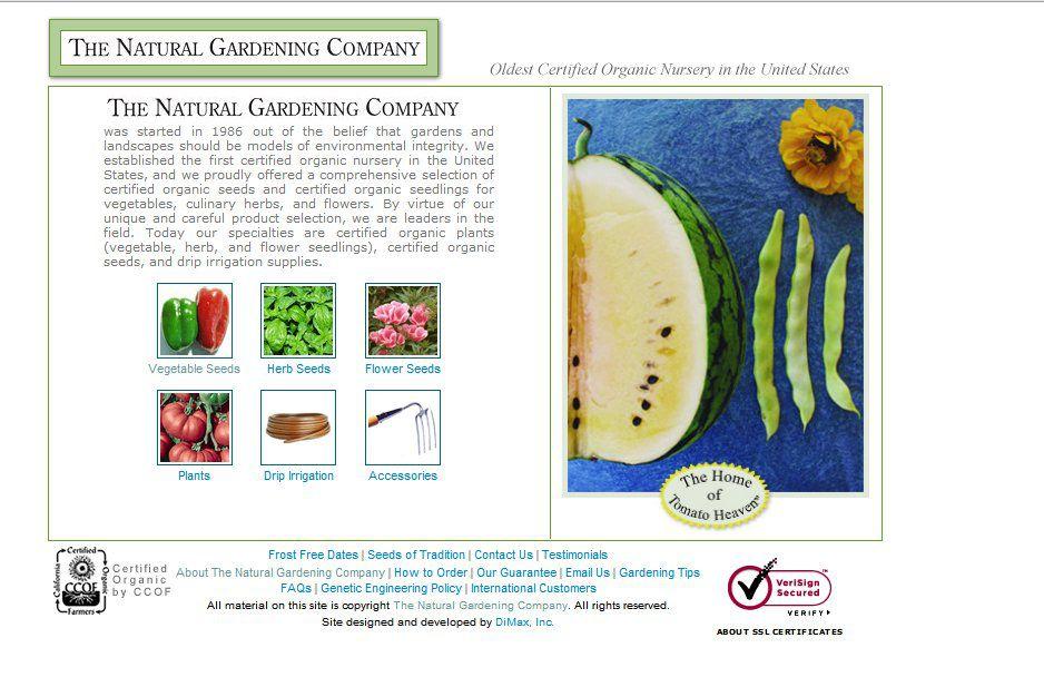 Natural Gardening Company