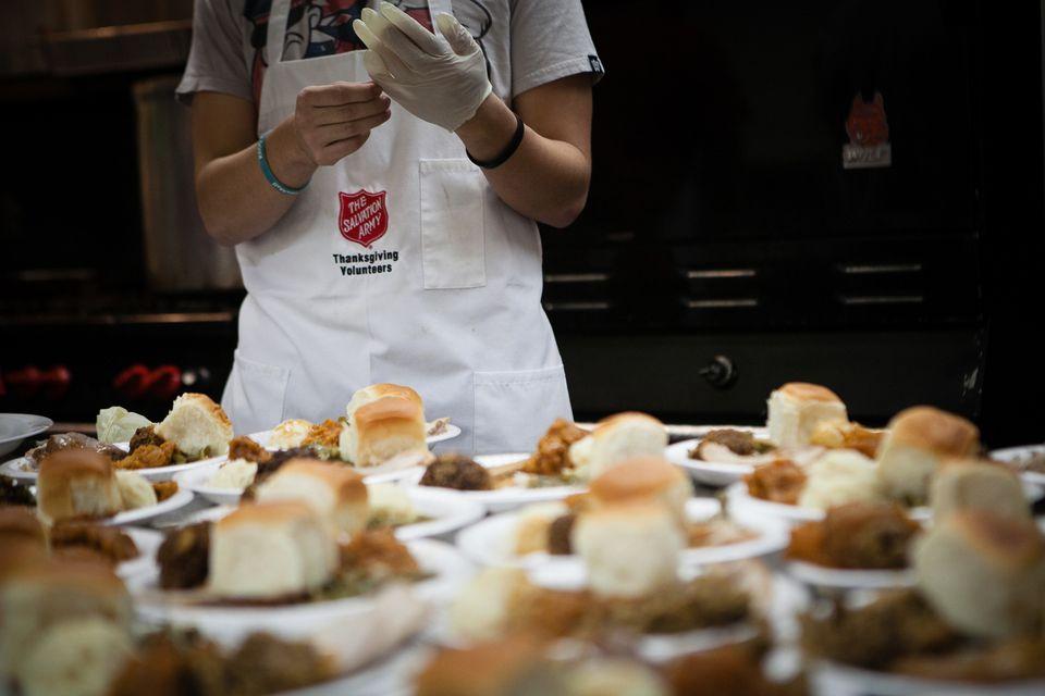 Salvation Army Thanksgiving Dinner