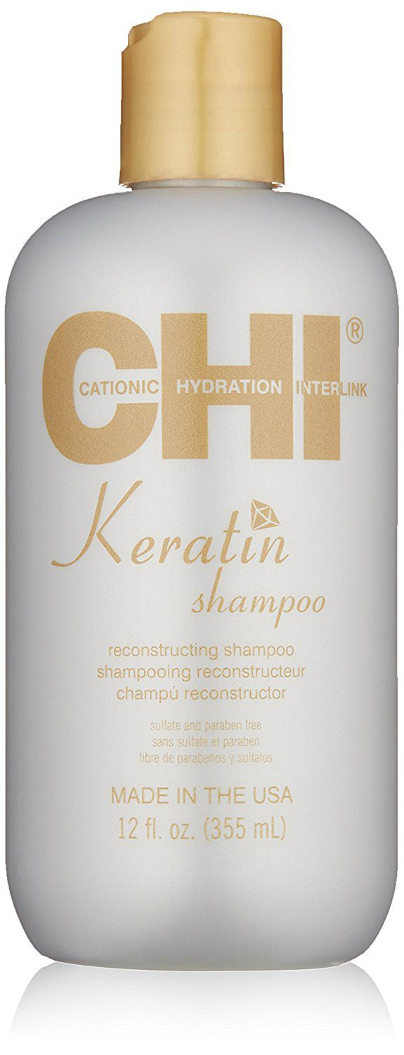 Review of CHI Keratin Shampoo and Conditioner