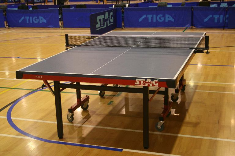 Photo of Stag International 1000 DX Table Tennis Table - Full View