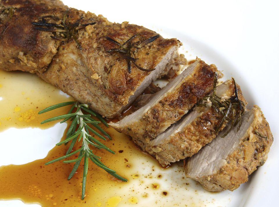 Grilled Balsamic-Herb Pork Tenderloin