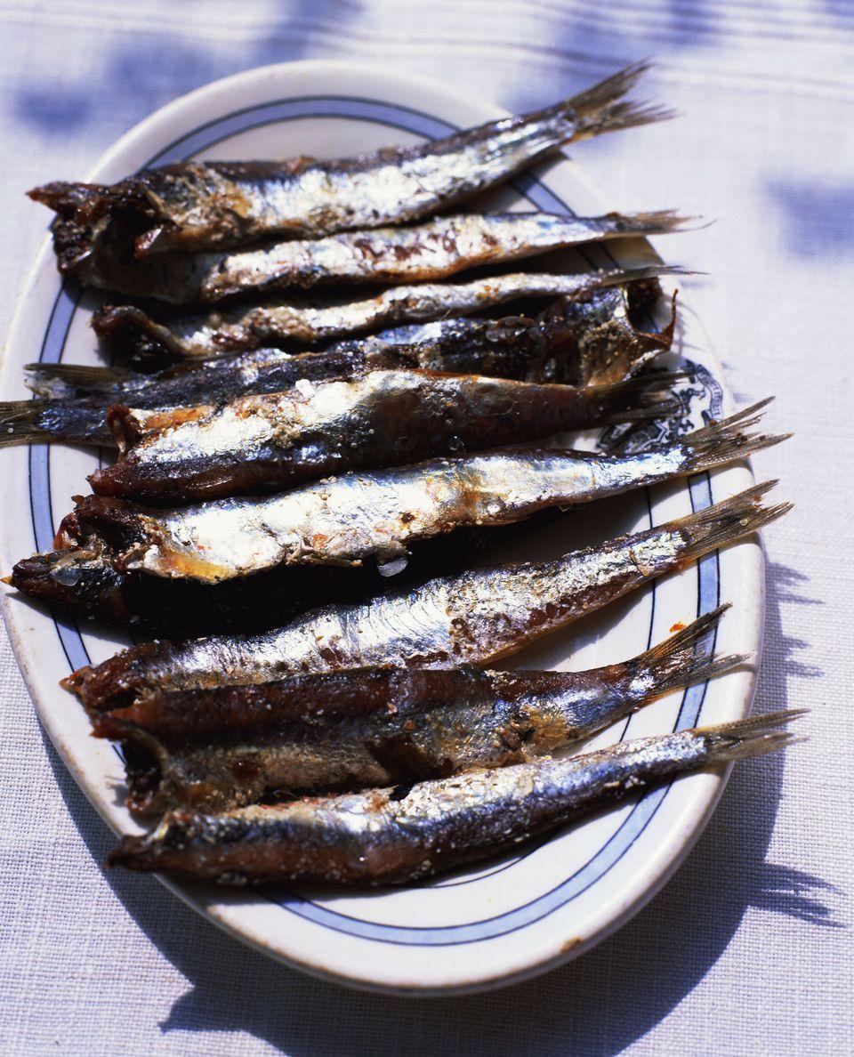 Smoked Sardines