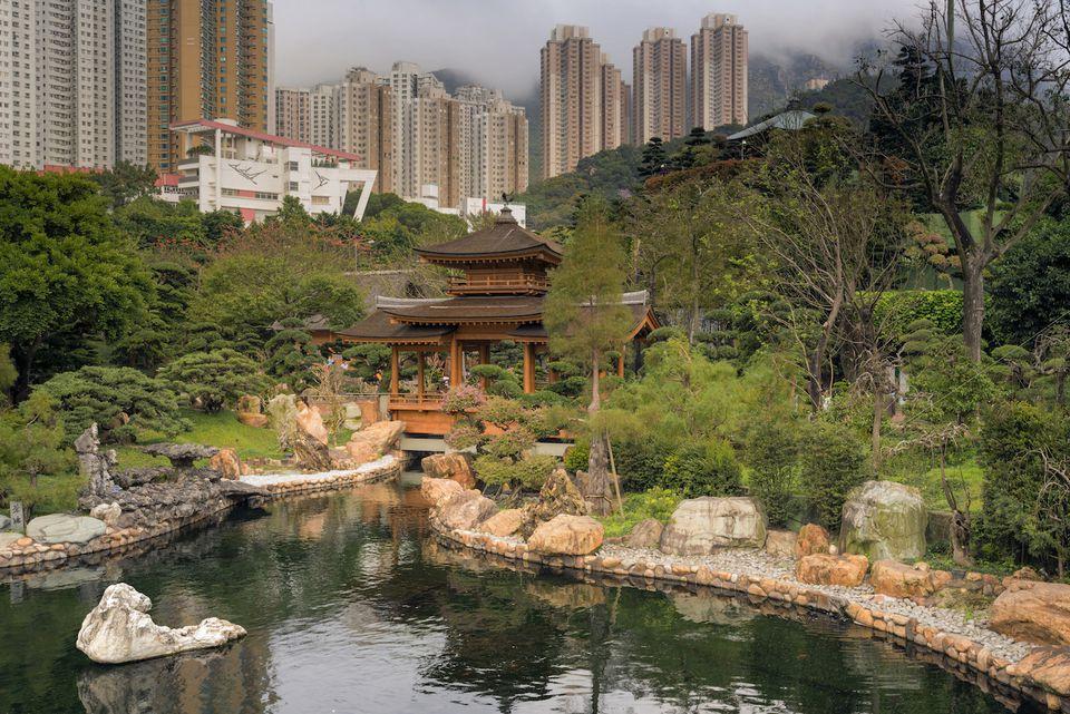 Nan Lian Garden,Diamond Hill, Hong Kong, China