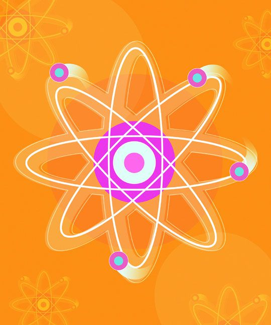 illustration of a neutron
