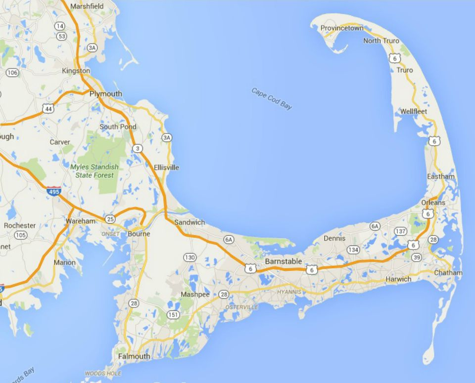 Dynamic image with regard to printable map of cape cod