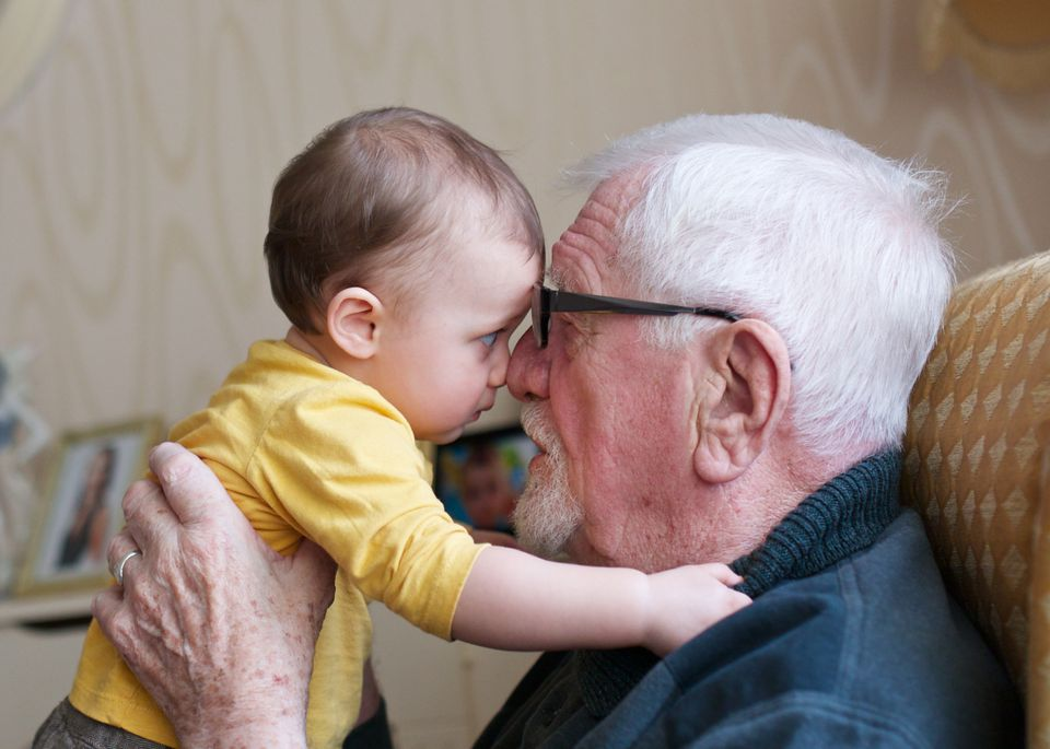 Eye to Eye with Great-Grandfather