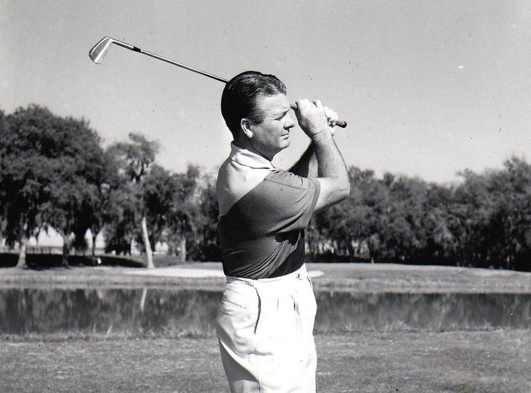Golfer Jimmy Demaret