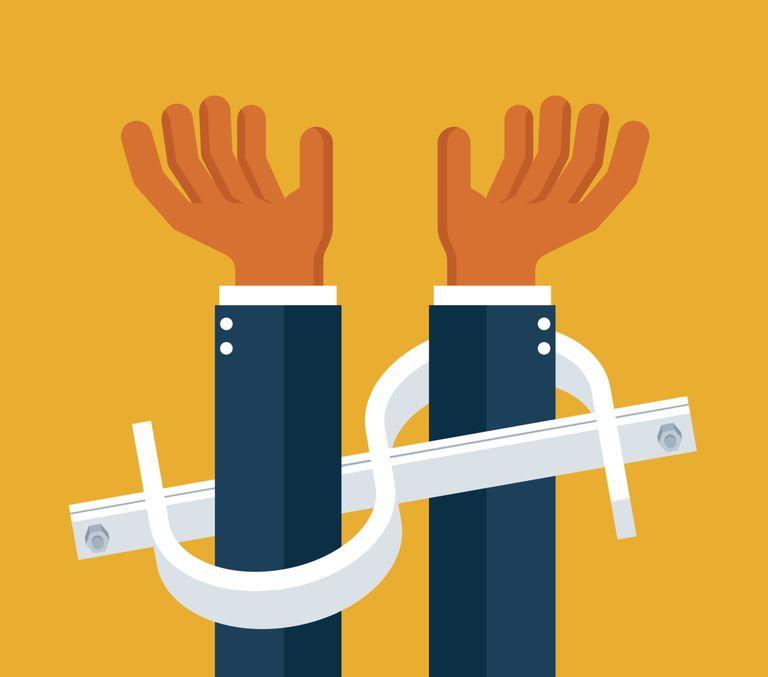 Handcuffed by Money