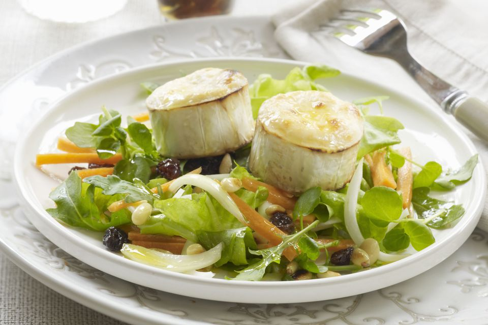 Fresh Goat Cheese Salad