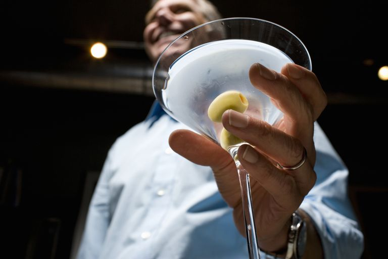 Man With Cocktail