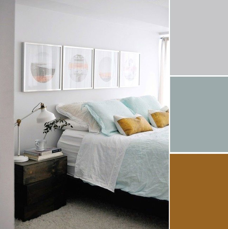 Bedroom Color Combinations: 7 Soothing Bedroom Color Palettes