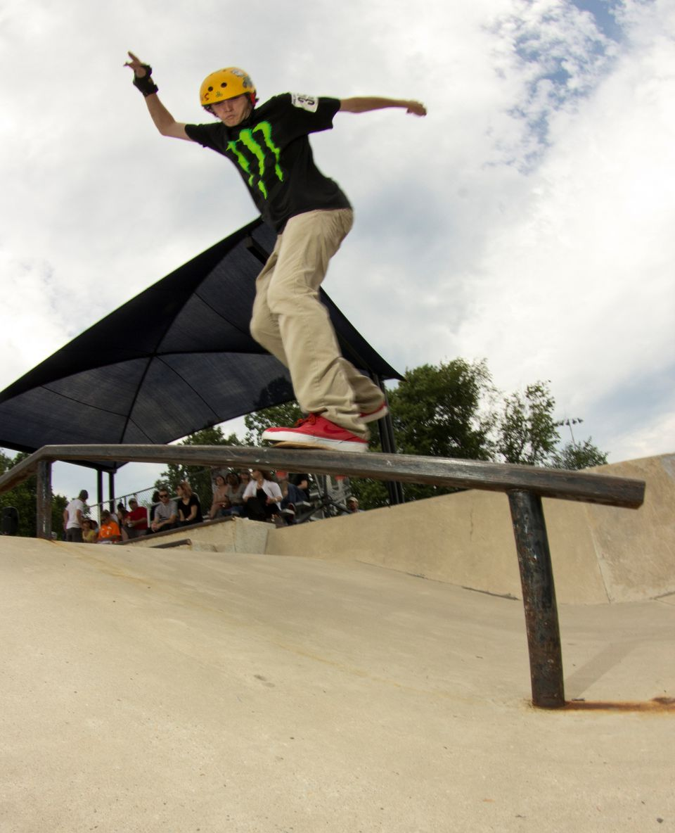 Bowie Skate Park, Bowie, Maryland