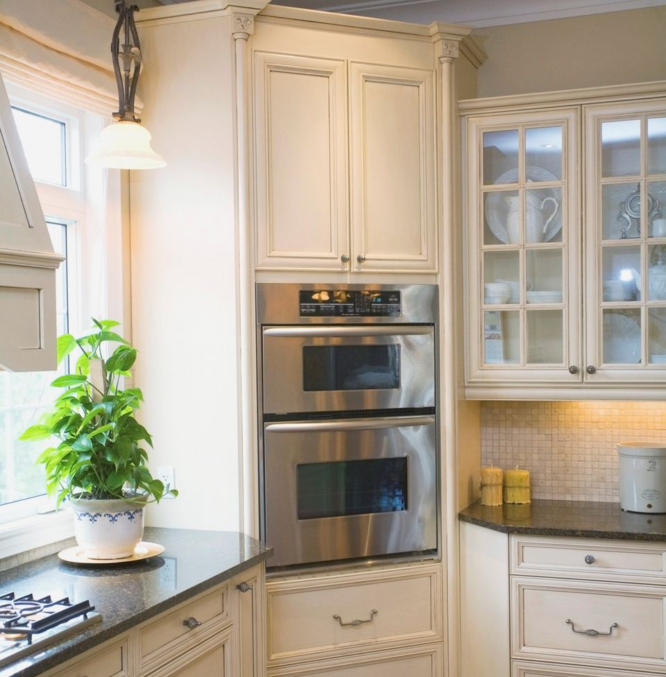 Wall Oven Cabinets: Corner Kitchen Cabinet Solutions