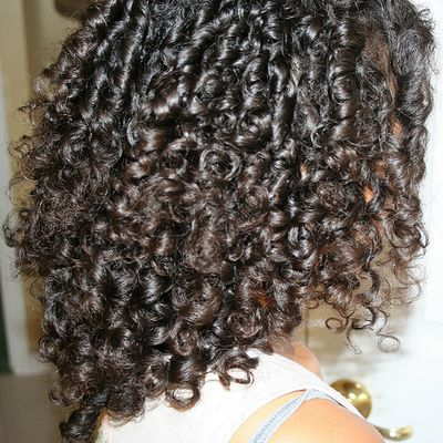 how to get curls without heat black hair